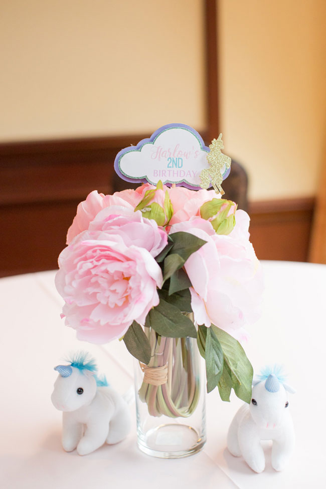 Unicorn Party Centerpiece