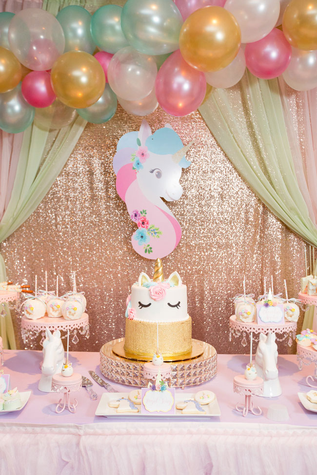 Sparkling Unicorn Party Ideas