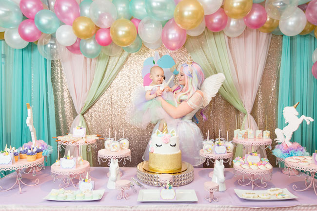 Princess Unicorn Birthday Party Ideas