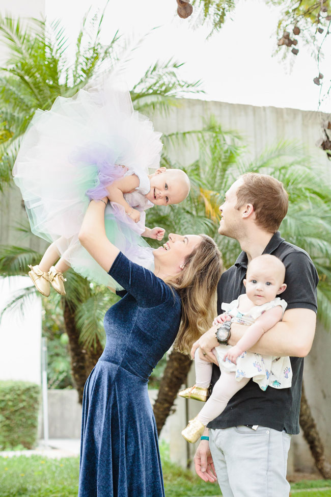 Unicorn Themed Family Photos