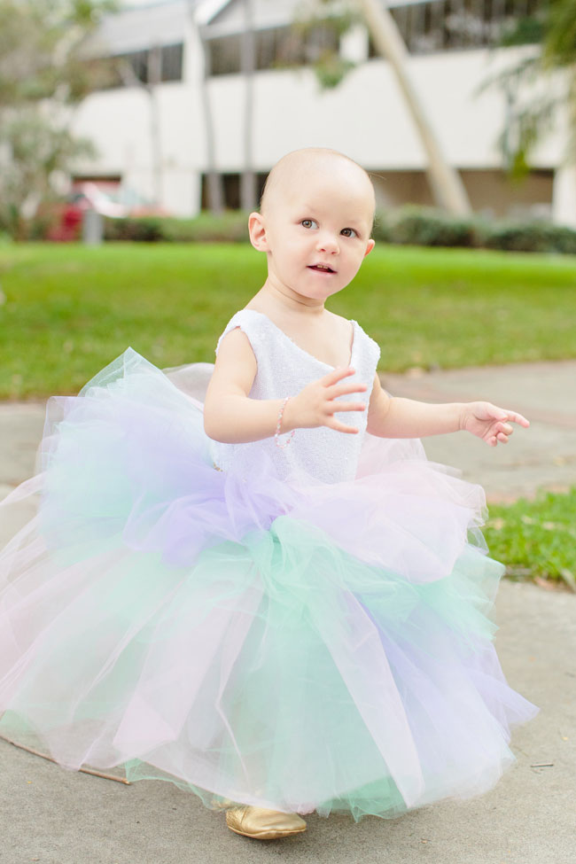 Pastel Unicorn Party Dress