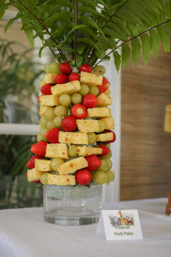 Pineapple Fruit Tree Display