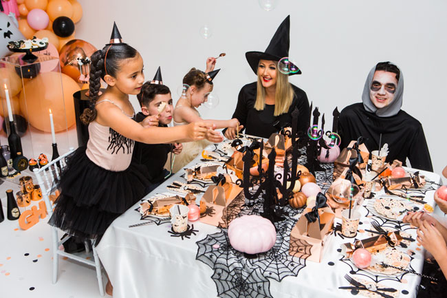 Ghouls Squad Kids Halloween Party