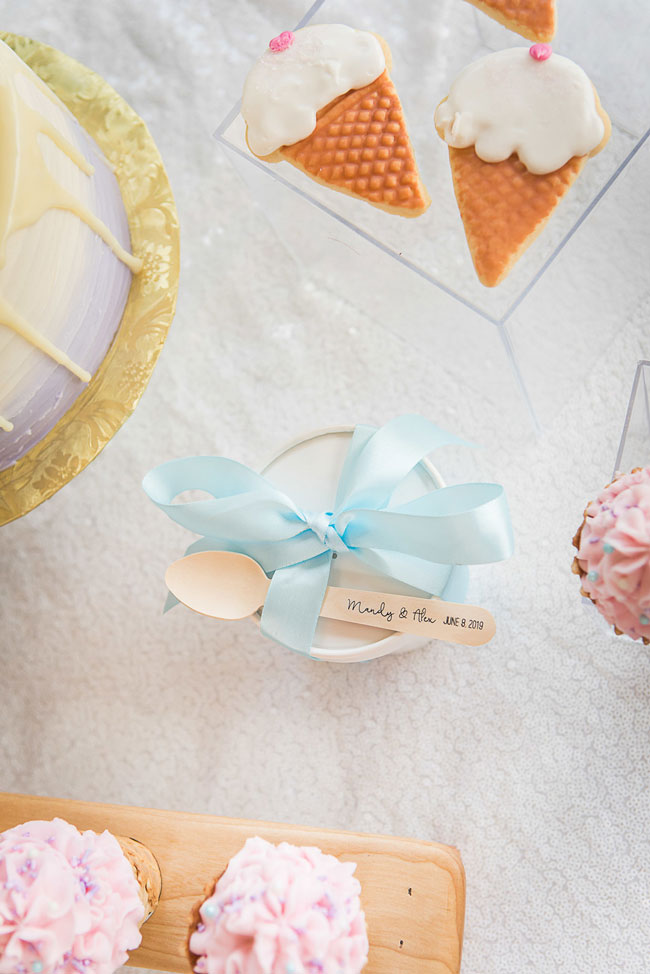 She Got Scooped Up Bridal Shower Ideas