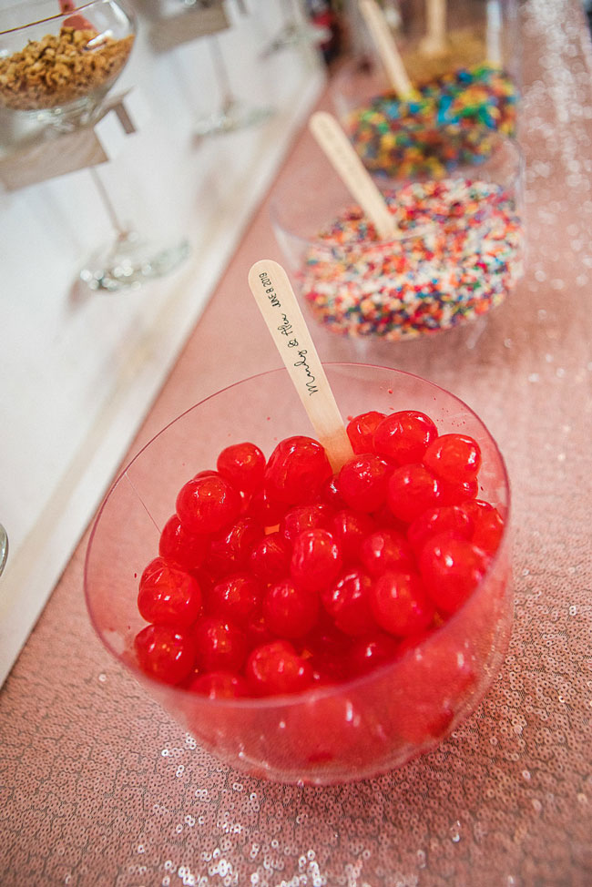 Ice Cream Bar Toppings For Bridal Shower