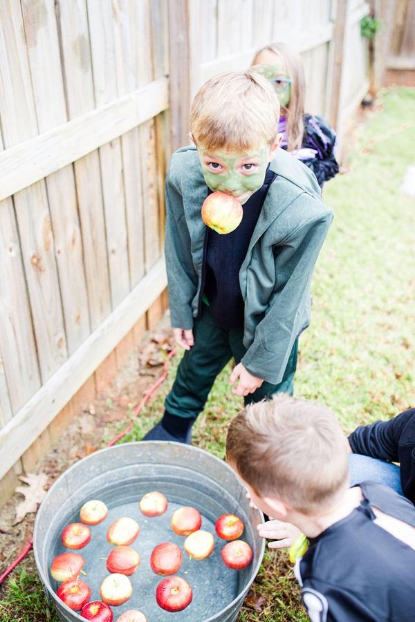 Bobbing For Apples Halloween Party Game