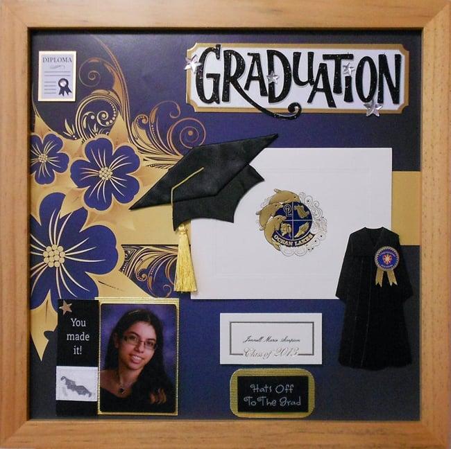 Graduation Shadow Box Idea