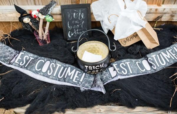 Halloween Party Best Costume Sash
