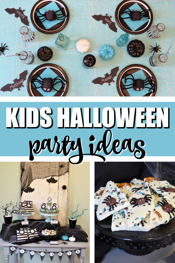 Kids Modern Halloween Party on Pretty My Party