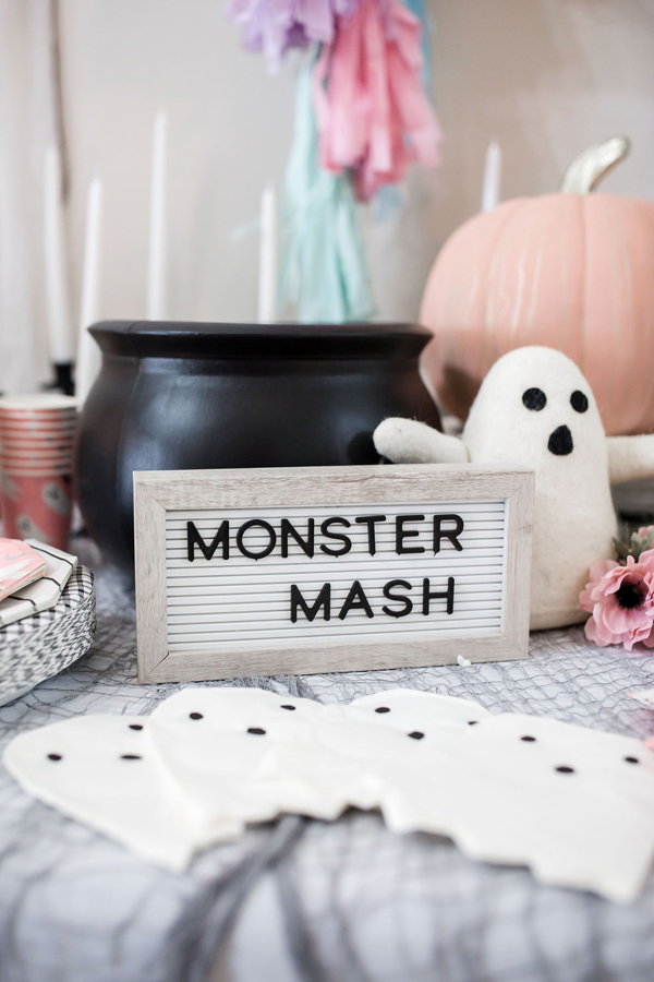 Monster Mash Sign