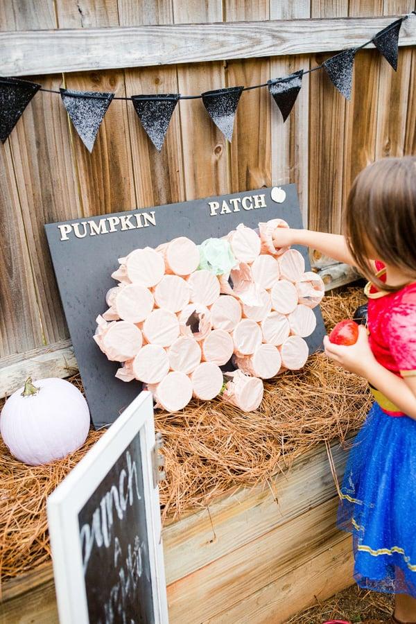 Punch A Pumpkin Game