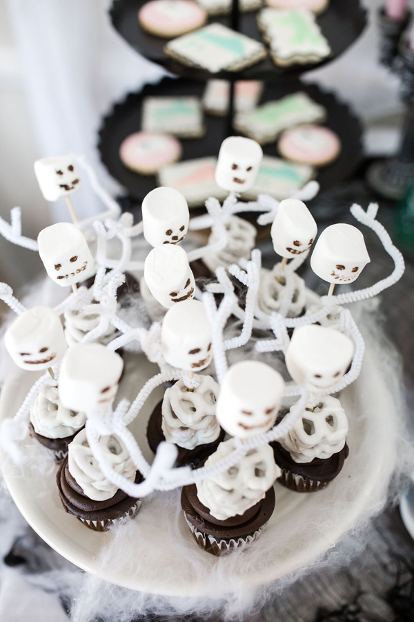 Skeleton Cupcake Toppers