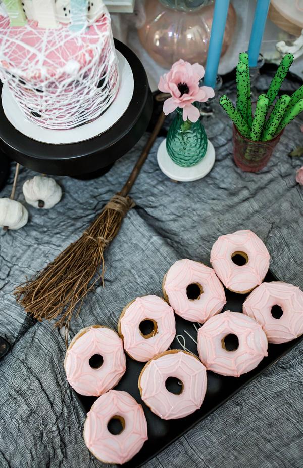 Spiderweb Donuts