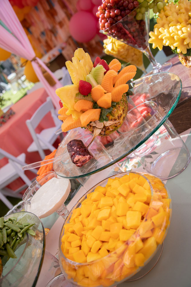 Party Fruit Display