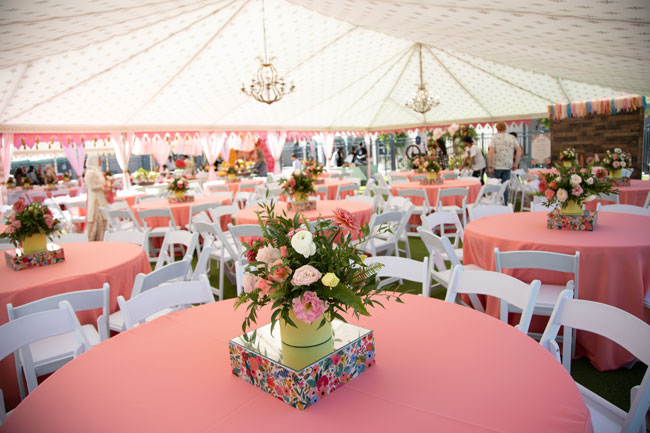 Gorgeous Tent Party Venue