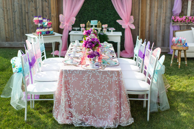 Pastel Butterfly Birthday Party