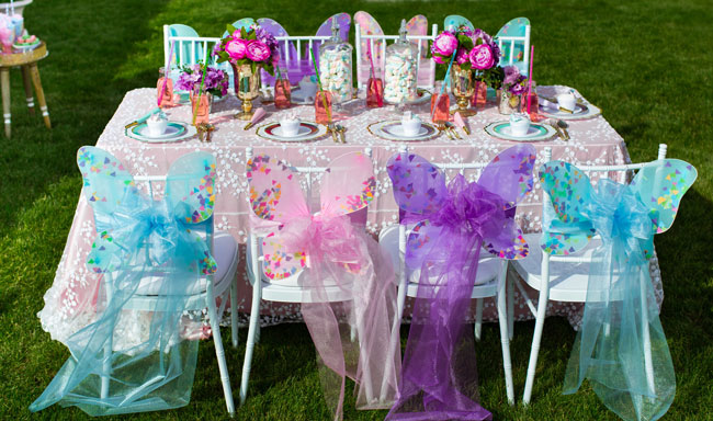 Butterfly Chair Decorations