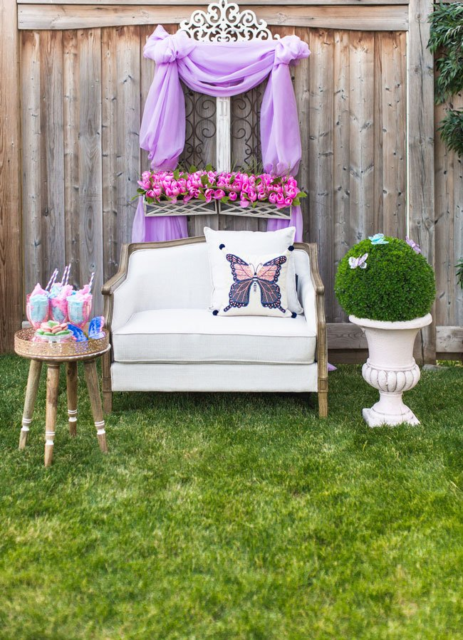Pastel Butterfly Party Decorations
