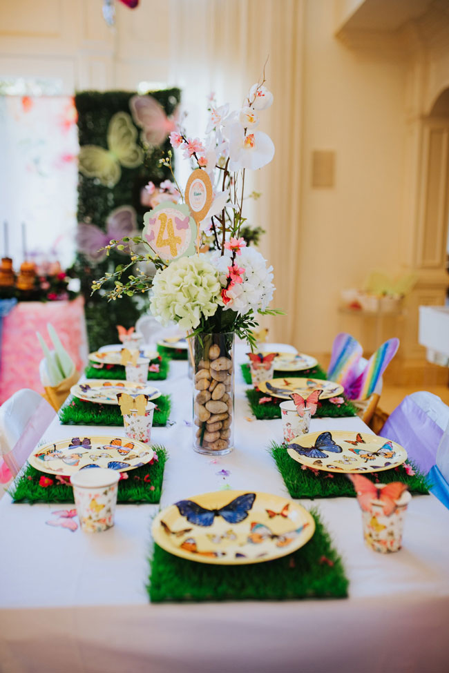 Butterfly Party Table Decorations