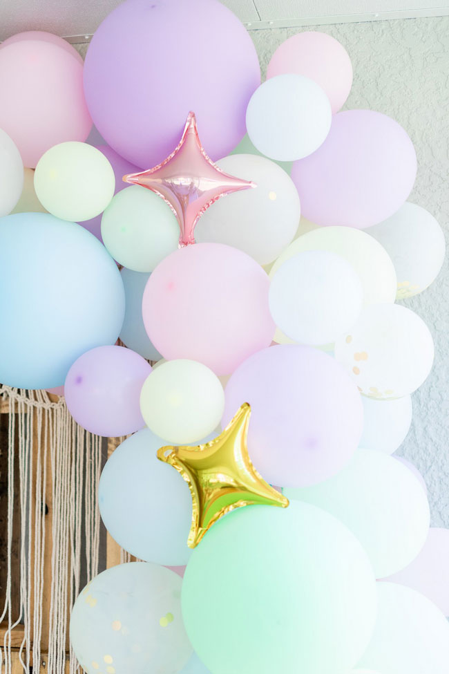 Pastel Balloon Garland