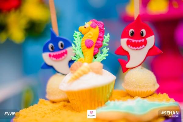 Baby Shark Desserts