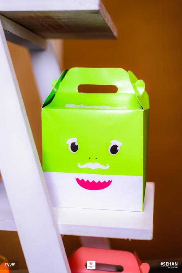 Baby Shark Favor Box