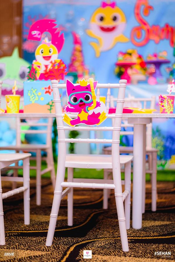 Baby Shark Chair Decoration