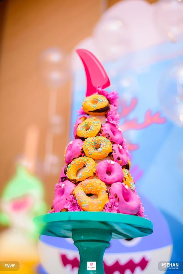 Baby Shark Donut Display